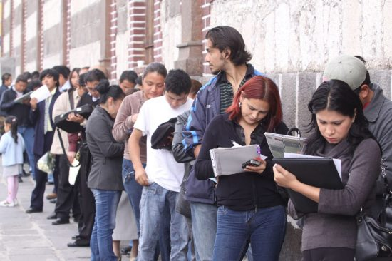 En México aumentará el desempleo durante 2017