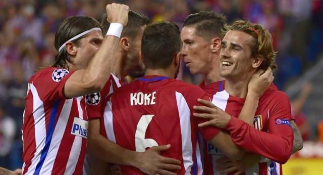 Atlético de Madrid dio el primer paso hacia la semifinal
