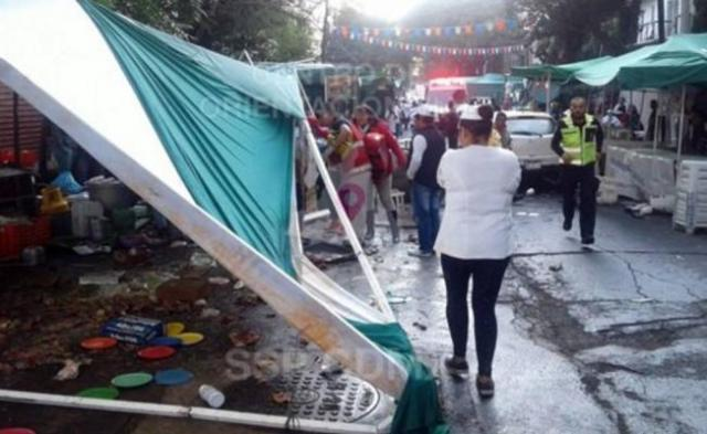 Hombre fue arrollado en tiaguis de Cuauhtémoc