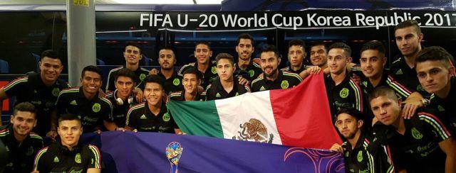 Llega a corea del sur para mundial 2017 la selección azteca sub 20