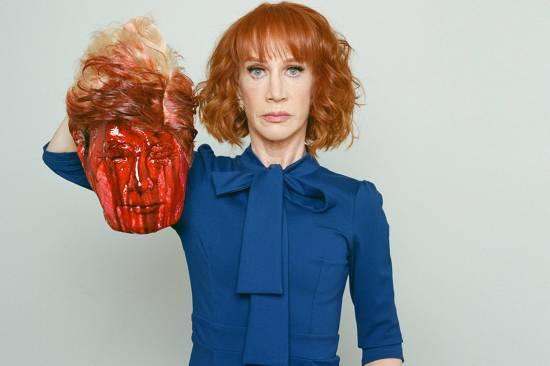Una presentadora desata la polémica con una imagen de Trump ensangrentado