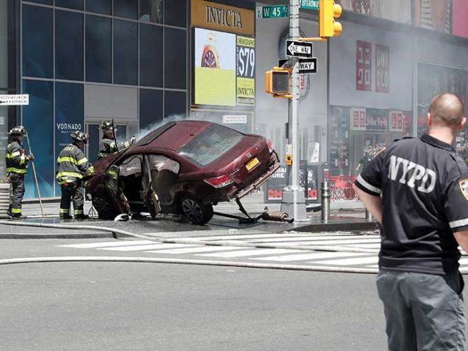 Identifican a responsable de atropello en Times Square