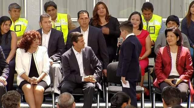 Reforma educativa no está agotada: Peña Nieto