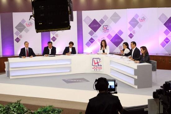 Entre ataques y descalificaciones el segundo debate en el Edomex