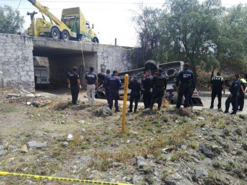 Ofrece Edoméx apoyo total a turistas accidentados en Acolman