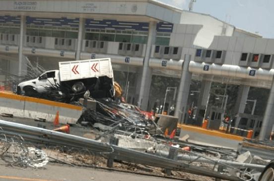 Accidente en la México-Toluca deja siete heridos