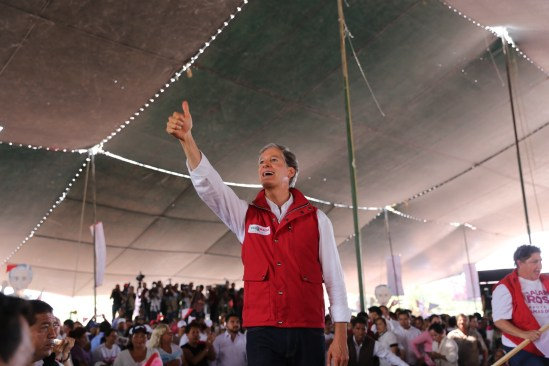 Promete Del Mazo agua potable para Ecatepec