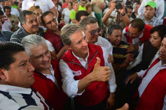 Reitera Del Mazo su apoyo a las causas del magisterio mexiquense