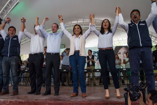 Ante indignación, deben salir a votar, pide Josefina Vázquez Mota a jóvenes