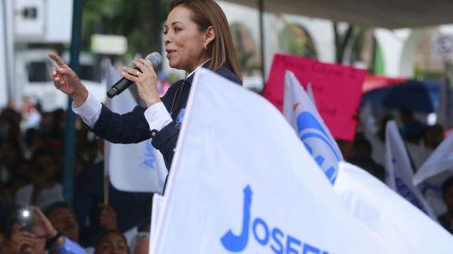 Construiré un Estado de México con seguridad: Josefina Vázquez Mota