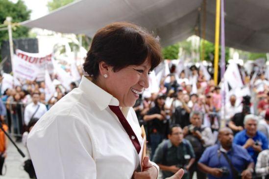 Delfina Gómez ofrece encabezar un gobierno austero