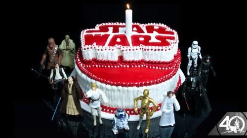Star Wars celebra 40 años