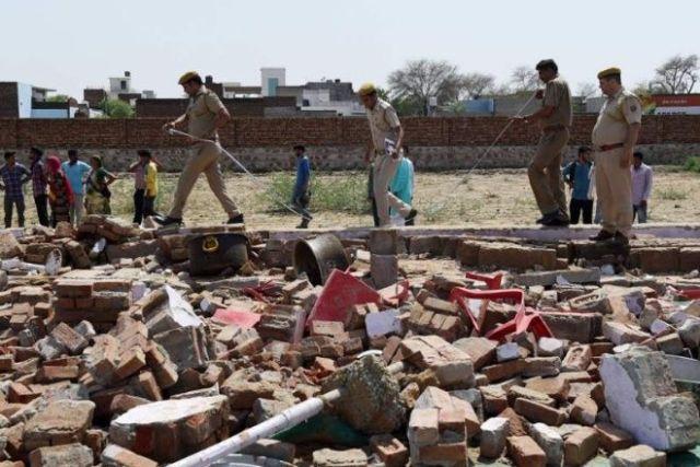 24 muertos en una boda tras derrumbarse una pared
