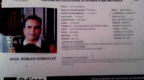 Sospechan de policías de desaparición de un joven en Toluca