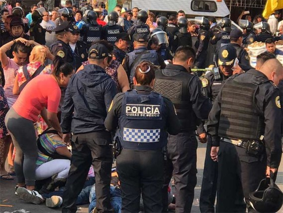 Dos muertos tras balacera en Mercado de Sonora