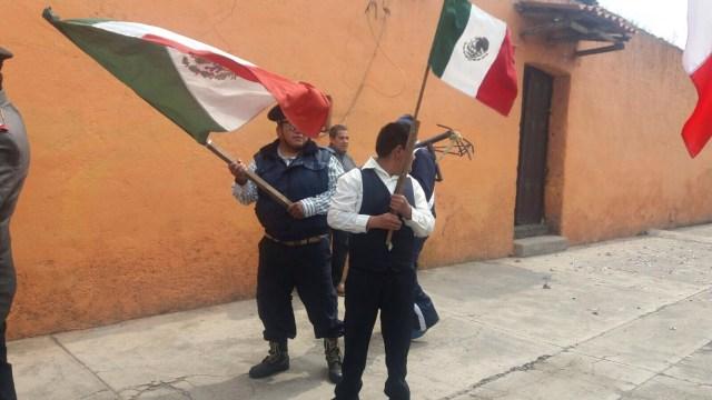 VIDEO: Representan Batalla de Puebla en Calimaya