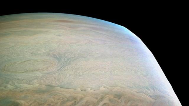 La NASA revela una impresionante imagen de Júpiter