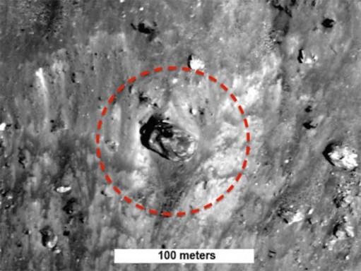 Hallan 'tanque de guerra extraterrestre' en la Luna