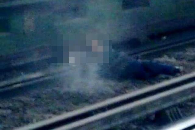 """VIDEO: Mujer cae a las vías del """"Metro"""""""
