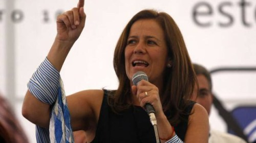 Margarita Zavala apoya alianza con PRD