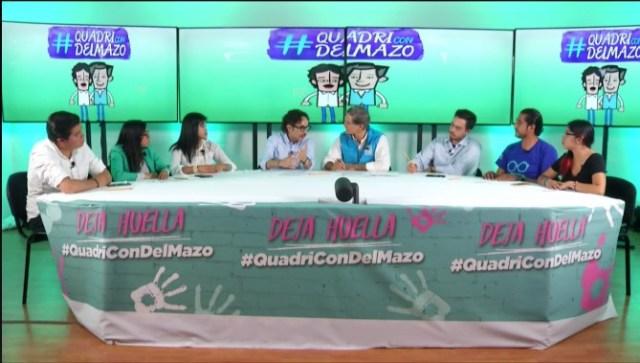 Jóvenes dialogan en redes sociales con Alfredo Del Mazo y Quadri