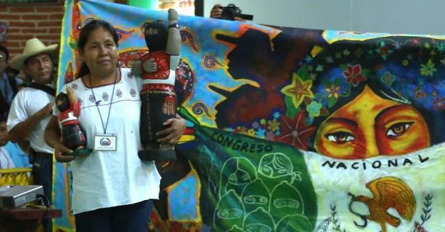 Indígenas eligen a su aspirante presidencial para 2018