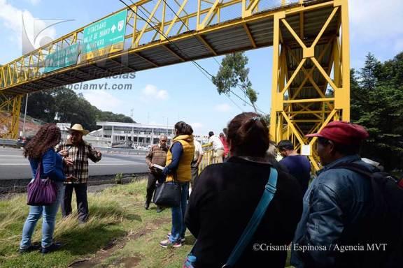 Rechazan rampa de frenado de autopista Lerma-La Marquesa por miedo