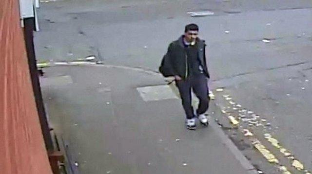 Revelan imágenes del terrorista en Manchester