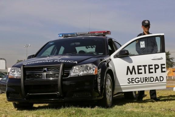 Intervención de la policia de Metepec evita agresión en la colonia Las Marinas
