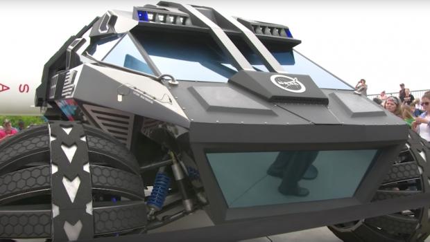 NASA crea el primer vehículo para misión en Marte