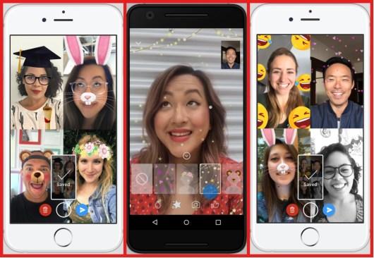 Facebook Messenger agrega más emojis, filtros, máscaras para los videochats