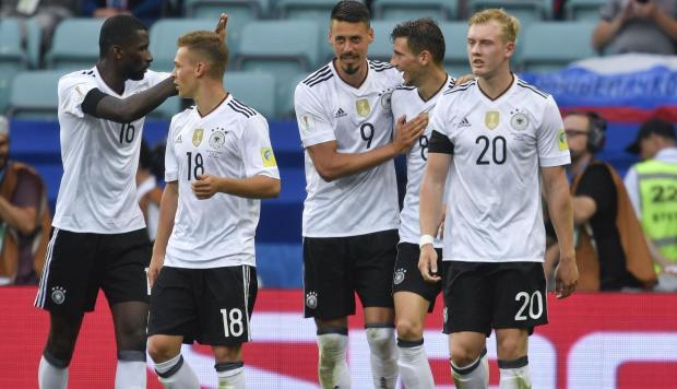 Alemania venció 3-2 a Australia en la Copa Confederaciones 2017