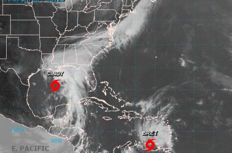 Tormenta tropical 'Cindy' se forma en el Golfo de México