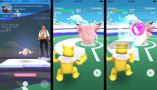 Ya se podrán tener combates fuera de los gimnasios en Pokémon GO