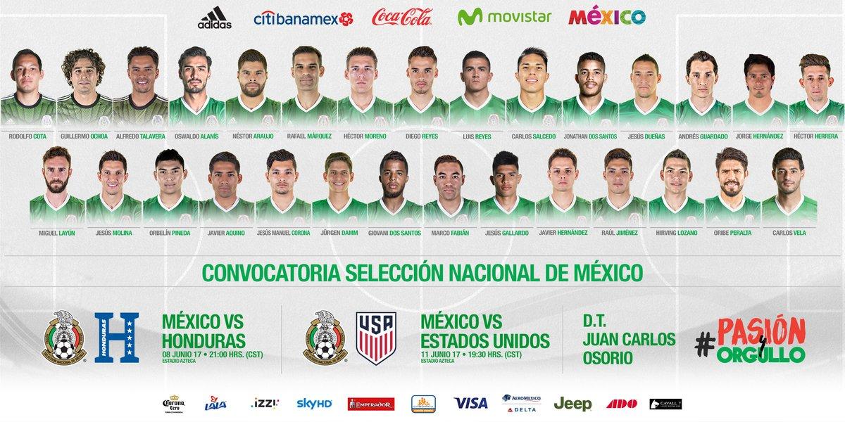 Osorio convoca lo mejor de la legión extranjera para partidos de eliminatoria
