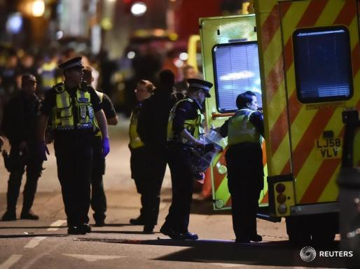 Tres incidentes violentos en Londres