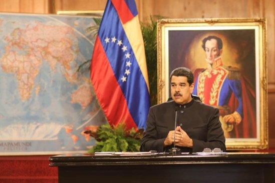 Maduro condenó ataque contra instituciones venezolanas, advierte que serán detenidos
