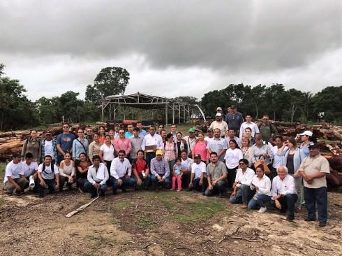 Muestran avances del programa de inversión forestal en México