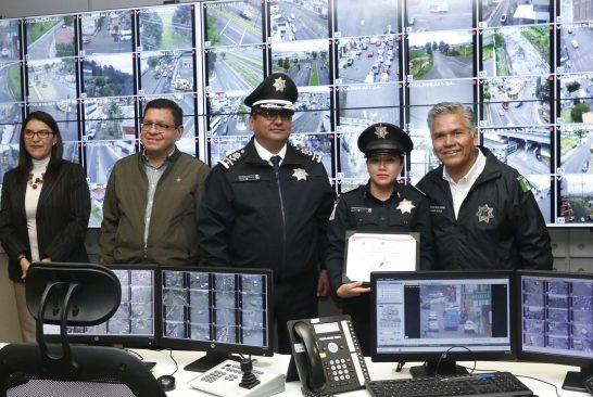 Reconoce alcalde de Toluca labor y compromiso del personal del Centro de Mando Municipal C2