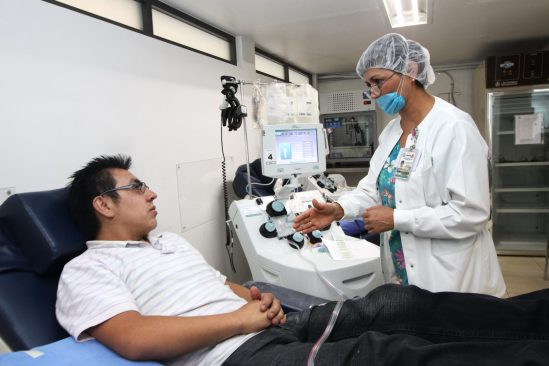 Campaña permanente del IMSS para donar sangre