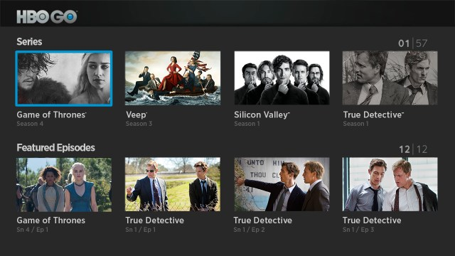 Nueva aplicación HBO Go de forma independiente