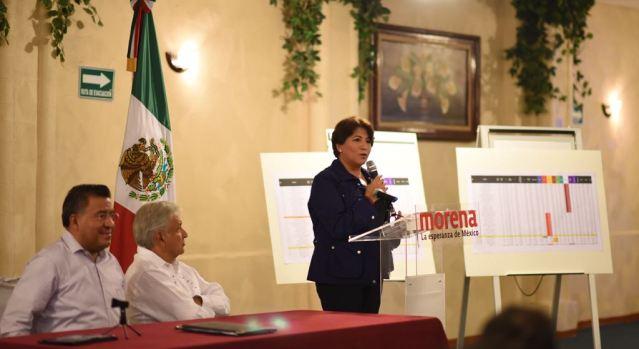 Le ganamos al PRI, debemos sentirnos orgullosos dice Delfina Gómez