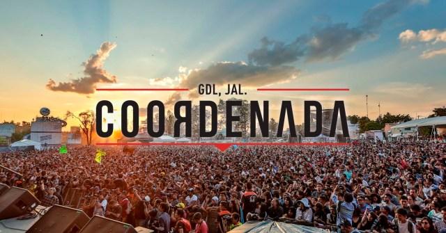 Aquí  el cartel del Festival Coordenada 2017