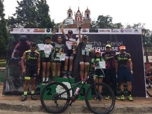 Más de 400 participantes en la 7ma Fecha del Serial Mexiquense de Ciclismo de Montaña