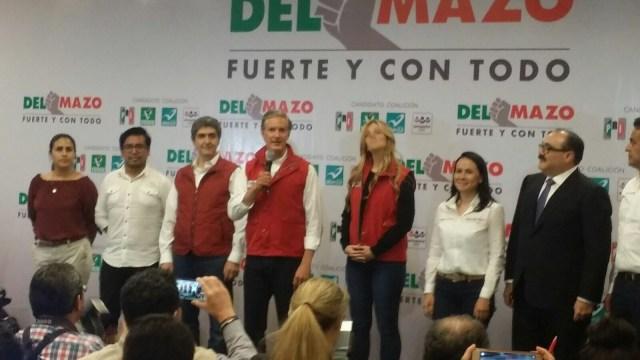 Alfredo del Mazo asegura que con su triunfo ganan los mexiquenses