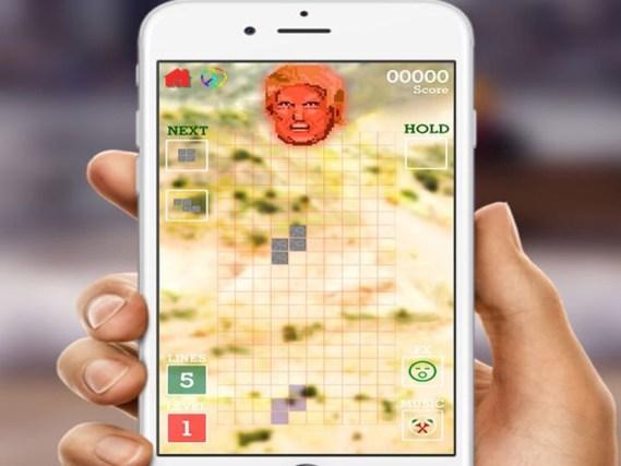 'Stop The Wall', el juego para 'destruir' el muro de Trump