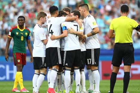 Alemania vs México en semifinales de Copa Confederaciones