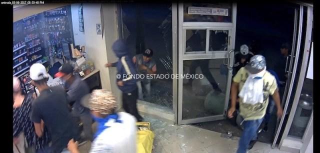 Reportan saqueos en varios municipios del edomex