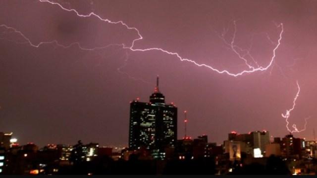 Pronostican tormentas muy fuertes en el centro del país