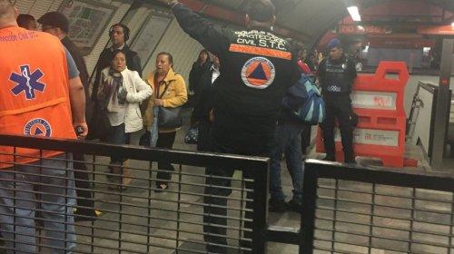 Permanecen cerradas nueve estaciones de la Línea 7
